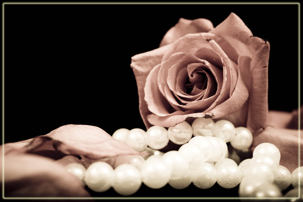 roses and pearls - photo #11