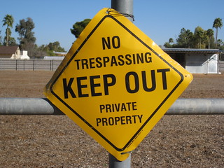 No Trespassing | by Dru Bloomfield - At Home in Scottsdale