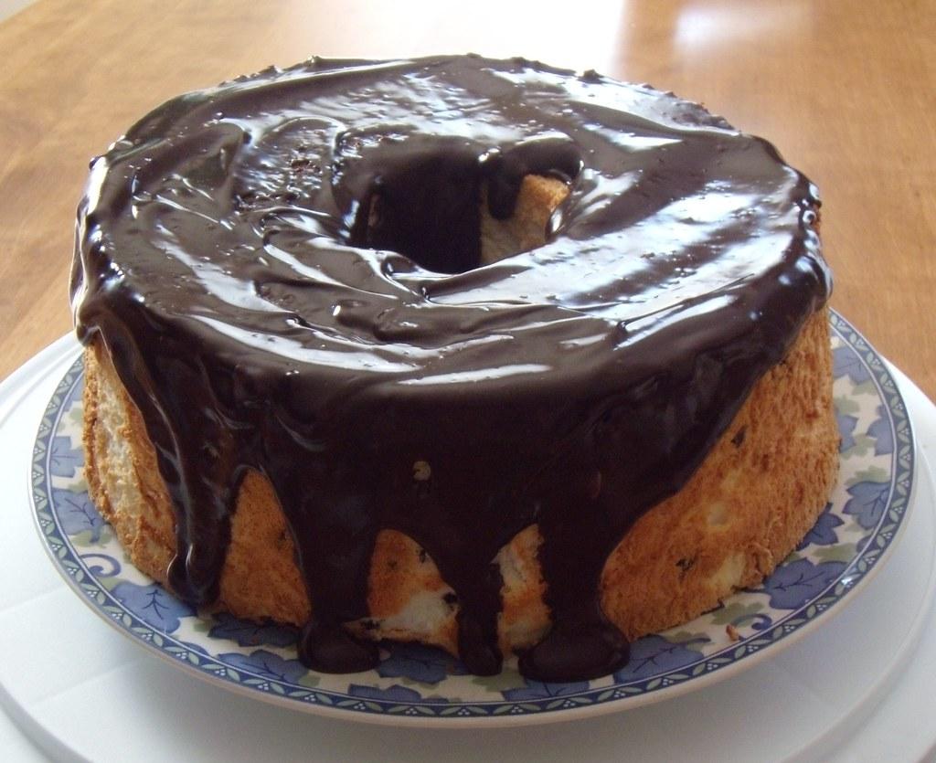 Chocolate Angel Food Cake From Box