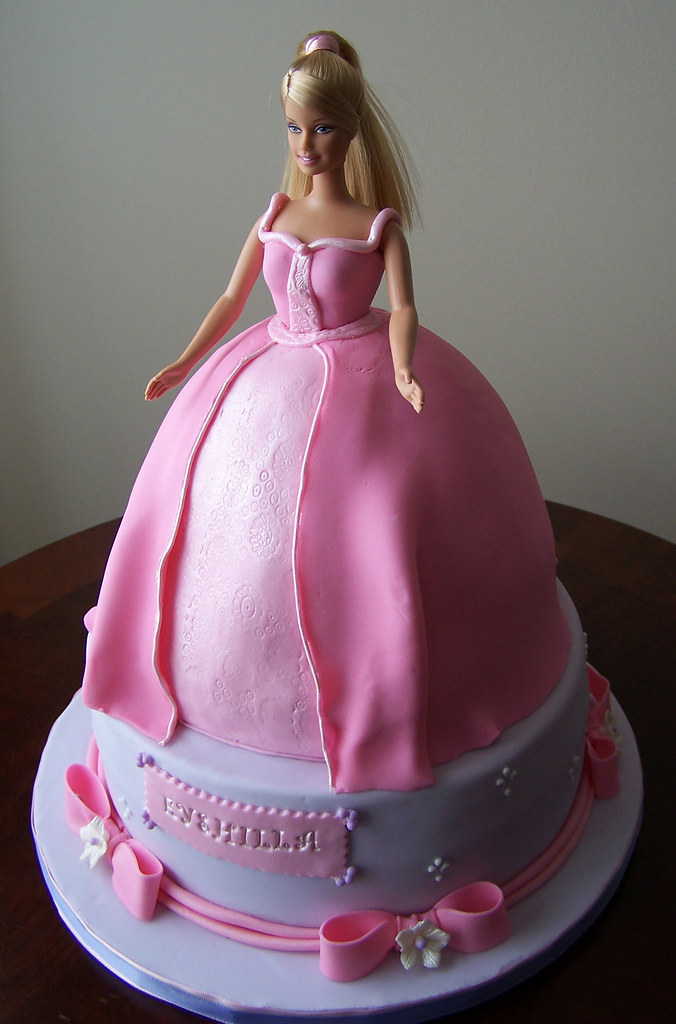 How To Make Doll Cakes For Girls