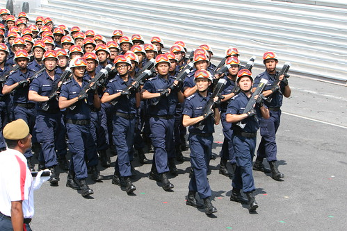 SCDF marching contingent | Flickr - Photo Sharing!