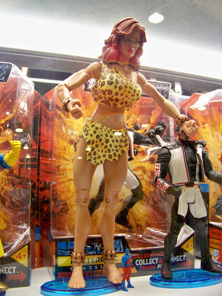 DC Classics Giganta at the Mattel booth at San Diego Comic ...