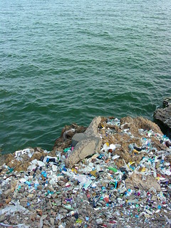 Sea with Garbage Dump - Along the Malecon - Santo Domingo - Dominican Republic | by Adam Jones, Ph.D. - Global Photo Archive