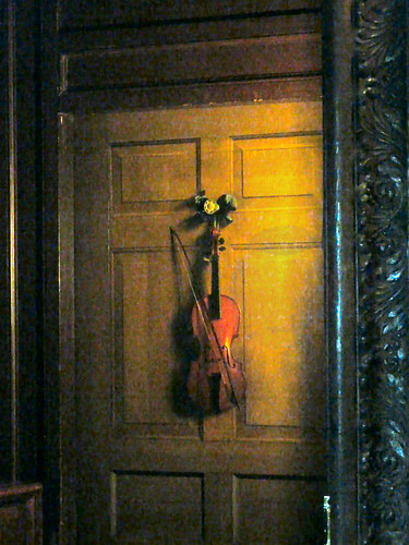 Trompe l'oeil of a violin,Chatsworth House | Flickr ...