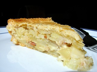 Potato-Bacon Torte | by Tracey's Culinary Adventures