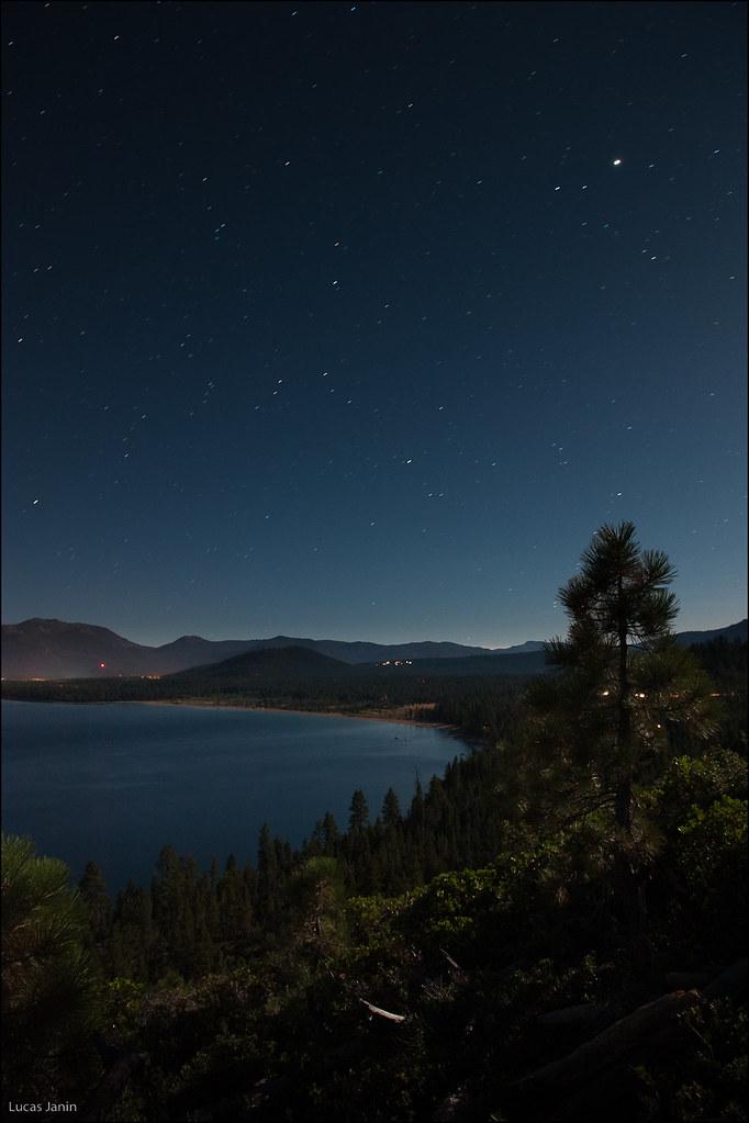 Full moon on Lake Tahoe | Emerald Bay at Lake Tahoe ...