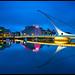 Dublin - The Samuel Beckett Bridge on the River Liffey