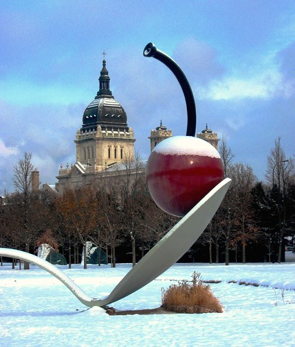 Minneapolis Winter Cherry , Spoonbridge, Minnesota | by moonjazz