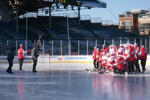 Red Wings photo time | by Lindsey Ungar
