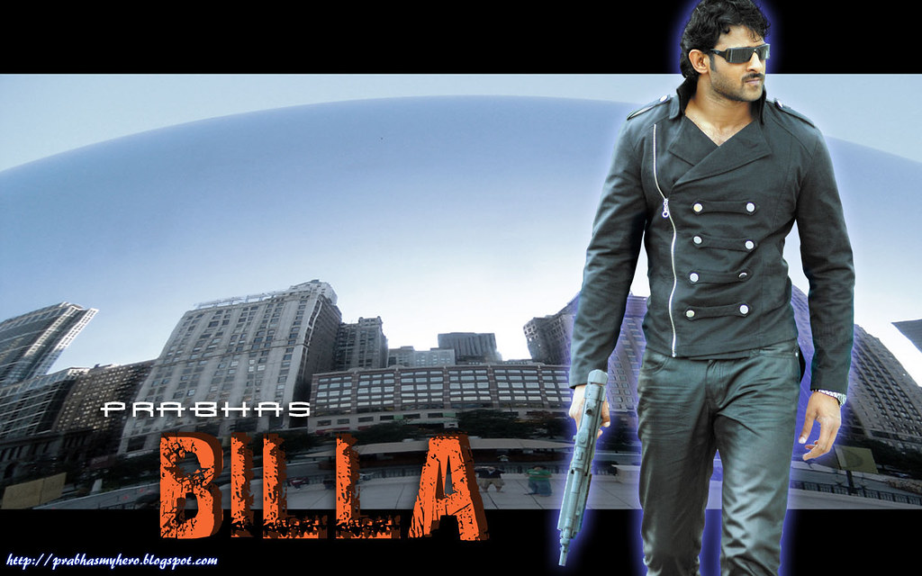 Prabhas Wallpapers Free Download Mobile: PRABHAS 'BILLA' WALLPAPER(3)