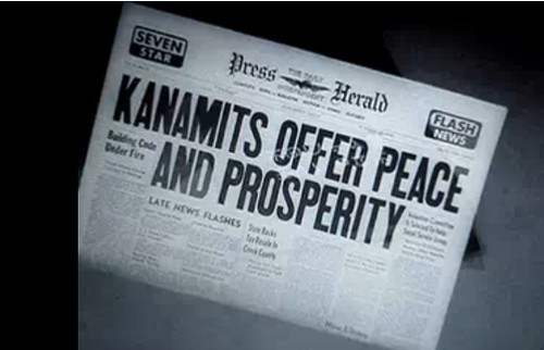 Kanamits Offer Peace and Prosperity