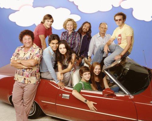 That 70s Show PROMO | THAT '70s SHOW- L-R top row, Ashton ... Ashton Kutcher Mila Kunis