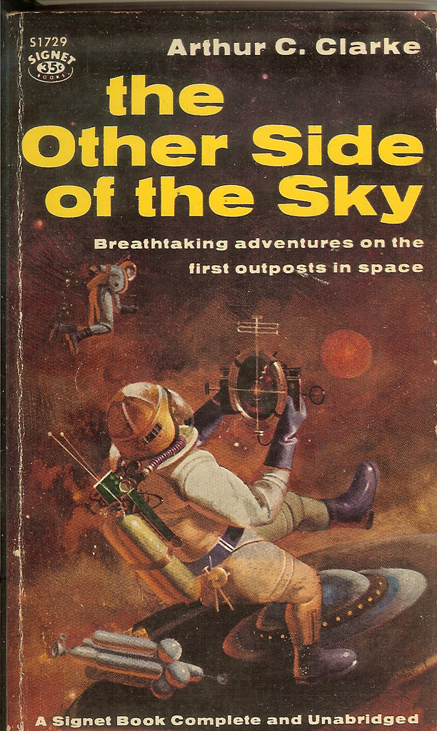 Book Cover Artist Jobs : Other side of the sky arthur c clarke st paperback e
