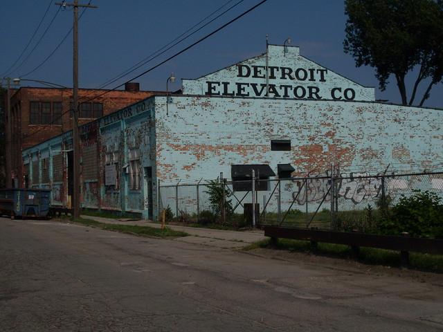 Detroit elevator building