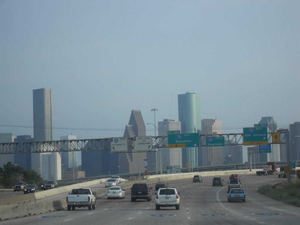 Vista De La Ciudad De Houston Tx Vluu L200 Samsung L200 Flickr