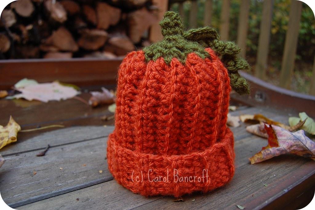 Crochet Pumpkin Hat Super Quick Super Easy Crochet Cap