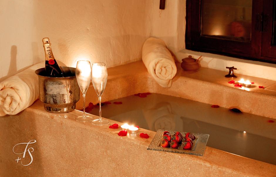 Valentínsky relaxačný kúpeľ