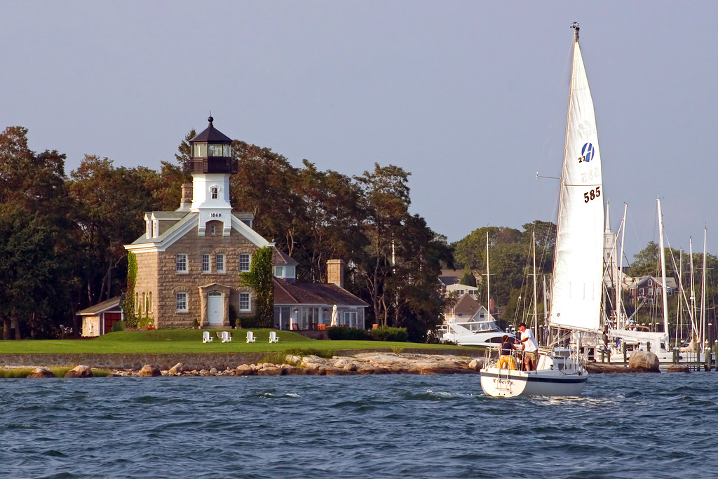 Morgan Point Lighthouse Connecticut Morgan Point