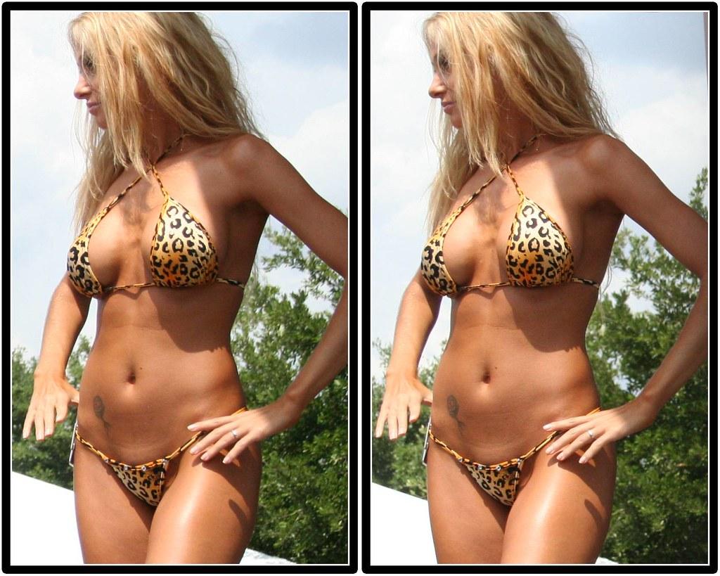 Harley bikini contest