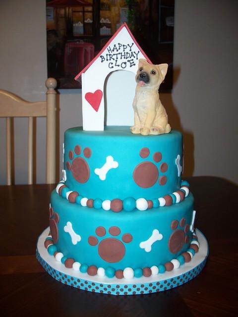 Dog Birthday Cake Jennifer Flickr