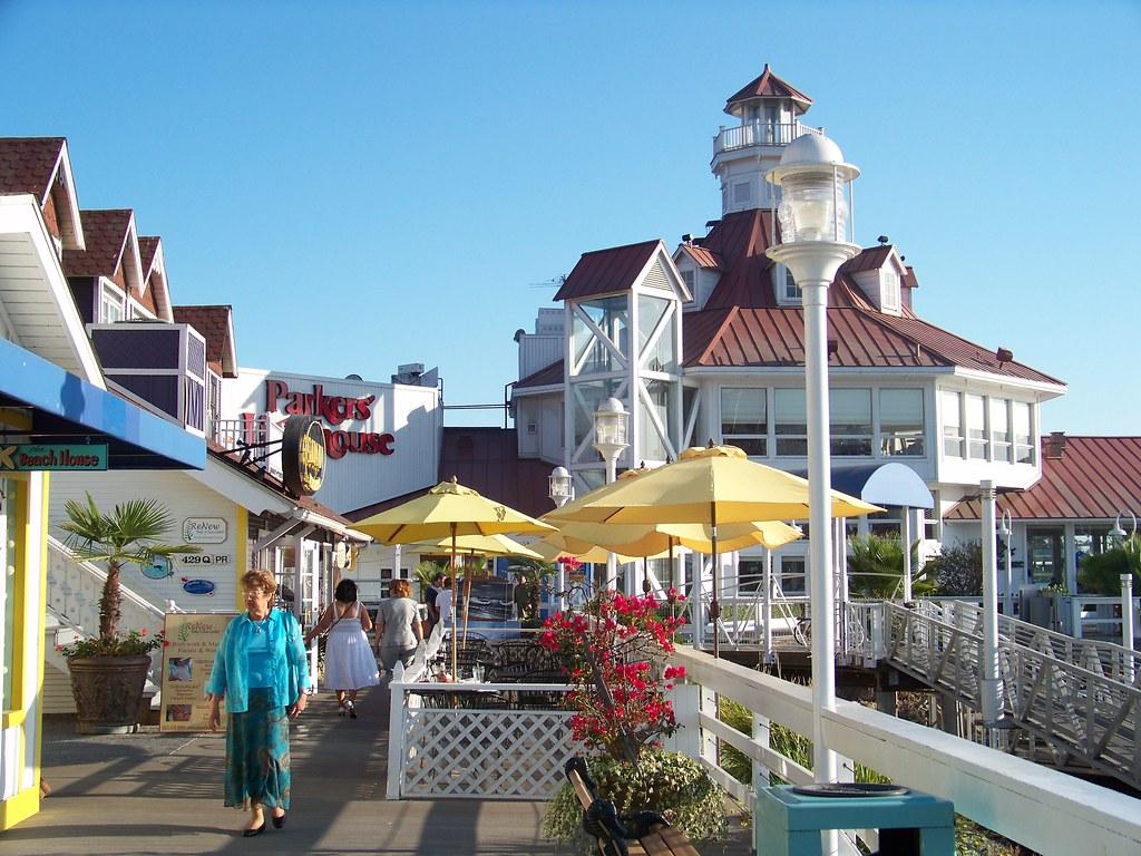 Long Beach Shoreline Village Lighthouse