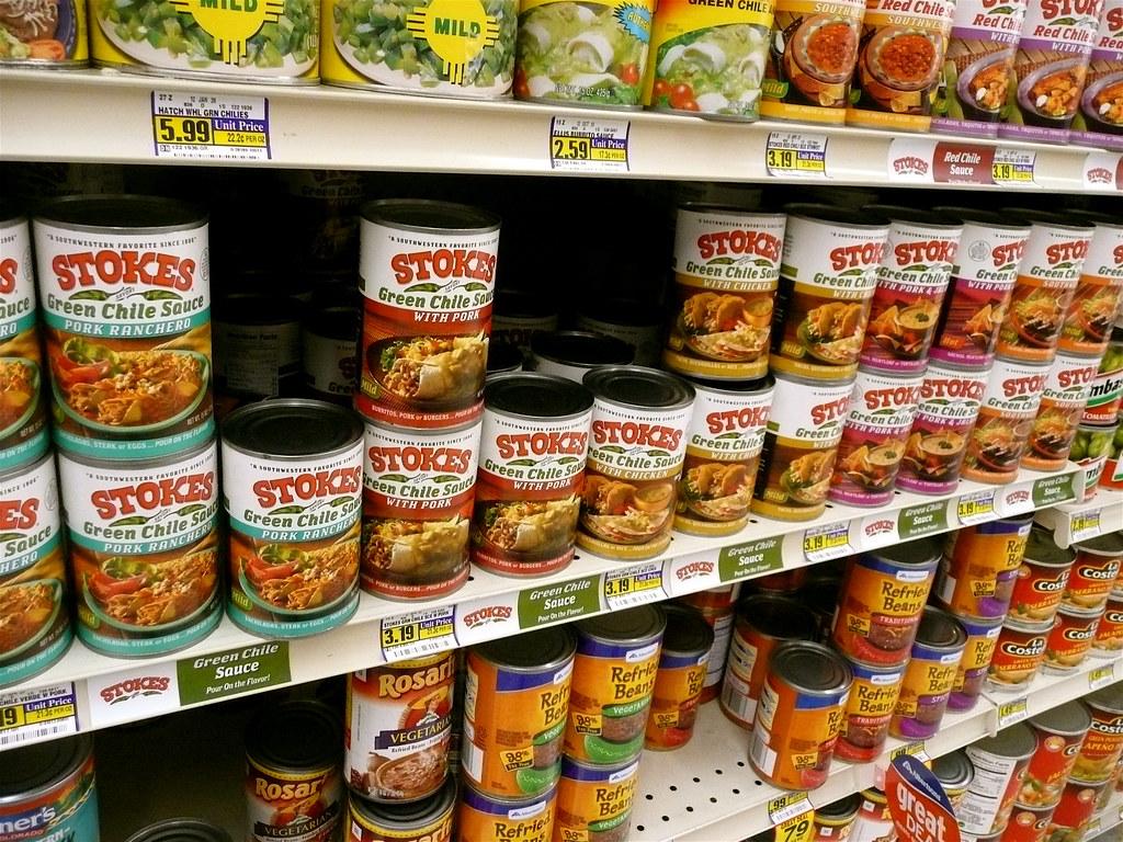 Canned Food Aisle