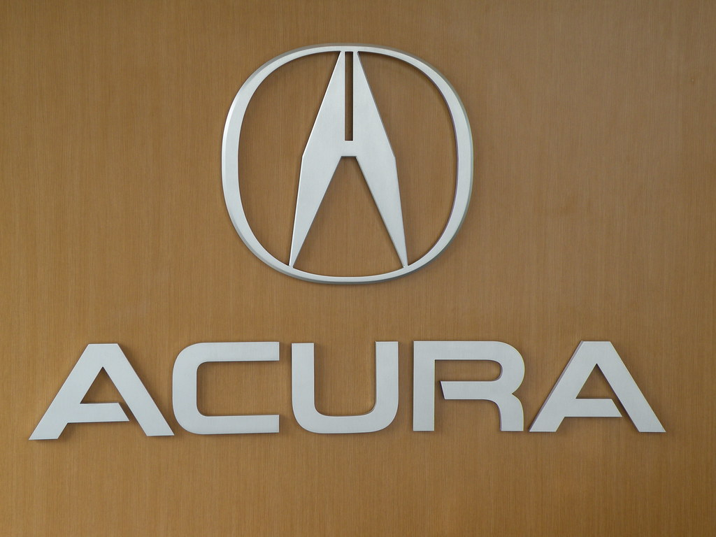 Acura Logo This Is A Shot Of The Acura Logo In The