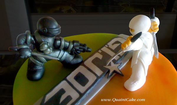 Gi Joe Cake Close Up Quaintcake Flickr