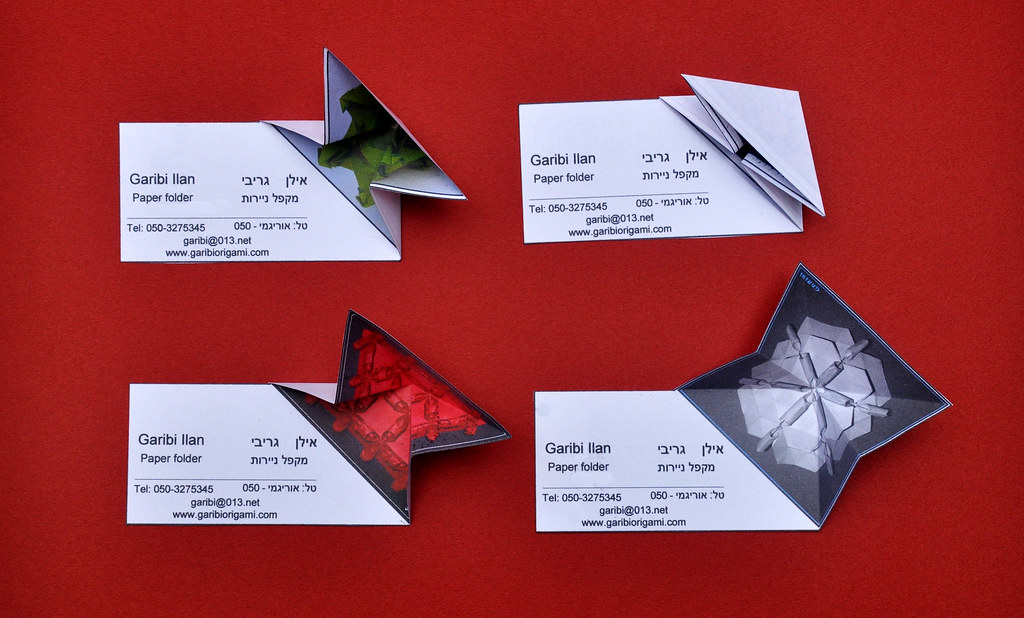 All sizes | Origami Business Card | Flickr - Photo Sharing!