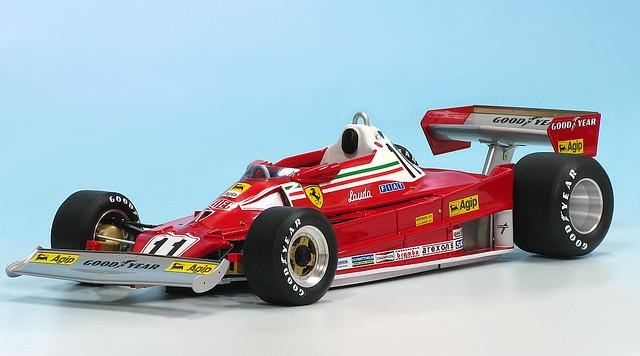Mg Model Plus Ferrari 312 T2 1977 Ferrari 312 T2 1977 F1