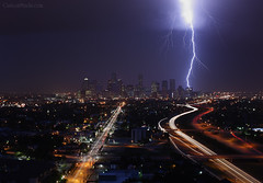 Houston Lightning Storm Panoramic | by leadingmodels