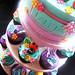 Magical garden cupcake tower