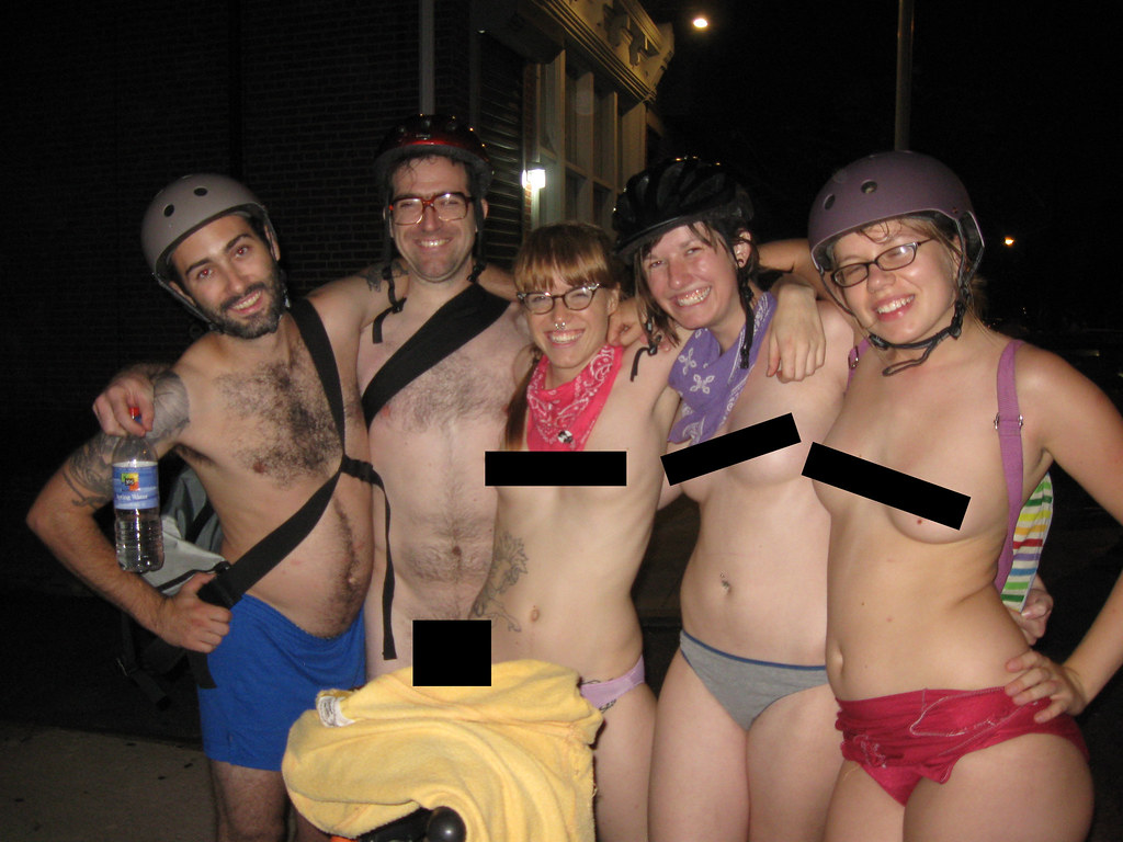 philly naked bike ride 2k9!!! | Avalon | Flickr