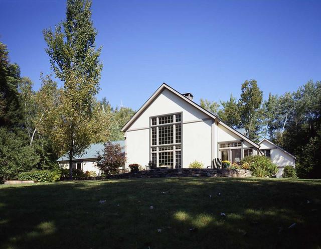 Yankee Barn Homes Model House In Grantham Nh Flickr