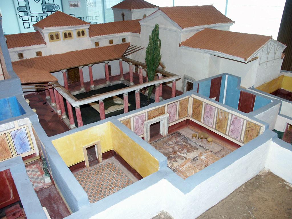 Museo de las villas romanas almenara puras valladolid for Villas romanas