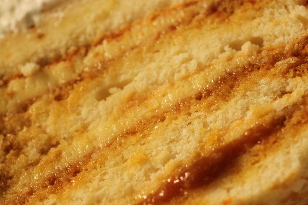 Meringue Birthday Cake