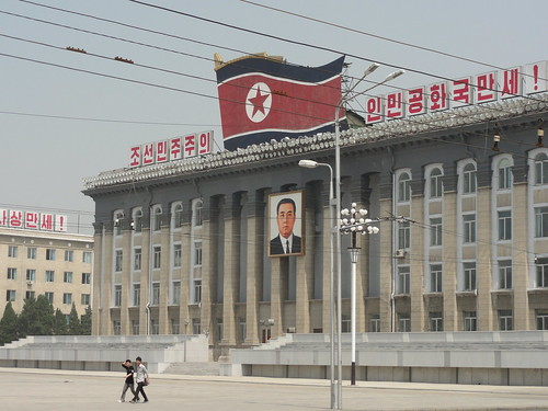 Workers Party Of Korea HQ in Kim Il Sung Square - Pyongyang | by mikestuartwood