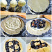 How to make Blueberry Rhubarb Cream Cheese Baby Galettes (collage)