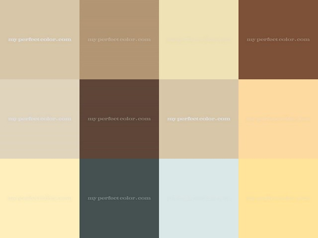 Tan Paint Color Schemes