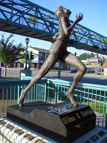 Wilma Rudolph Statue Flickr Photo Sharing