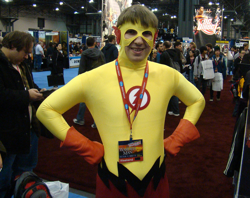 Kid Flash This Guy Made His Own Awesome Kid Flas