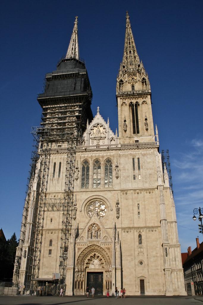 350 F To C >> Zagrebačka Katedrala | Zagreb, Croatia | Robiats | Flickr