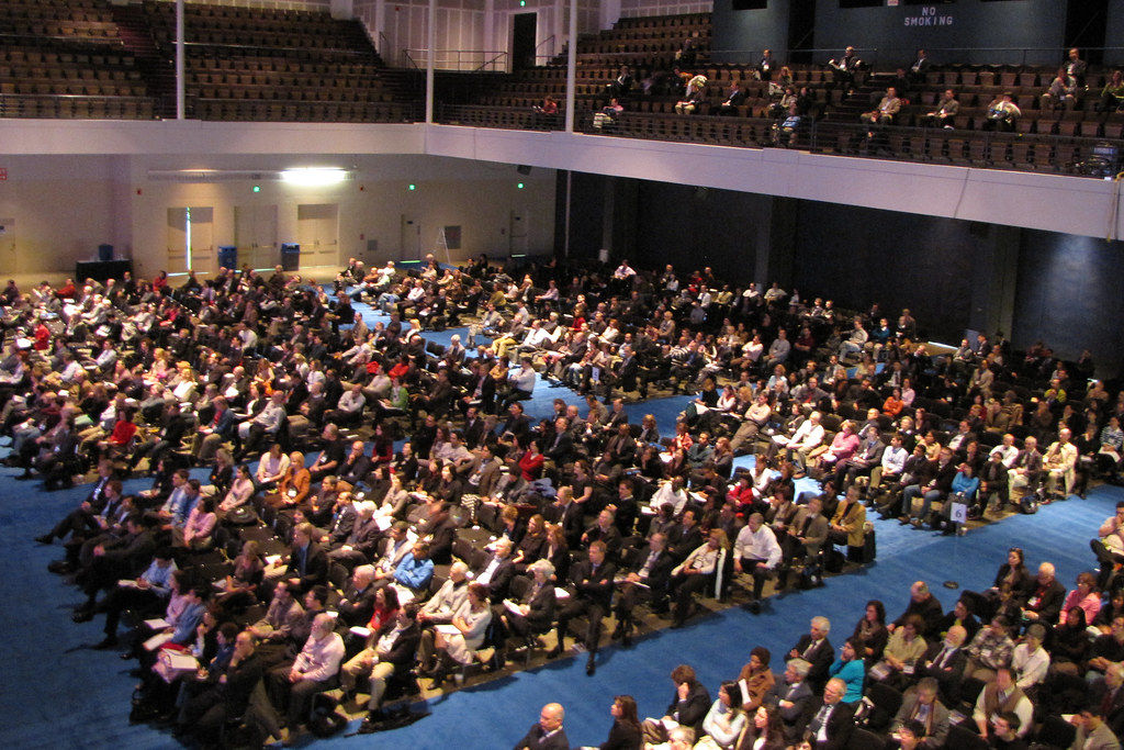 Convention Center Auditorium | The crowd at the Arthur ...