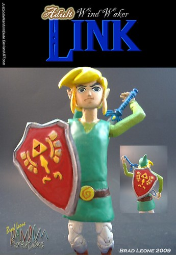 wind wakerstyled adult link custom figure if youre