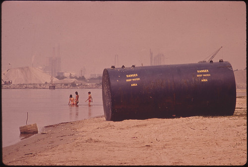 Chemical Plants on Shore Are Considered Prime Source of Pollution, 06/1972 | by The U.S. National Archives