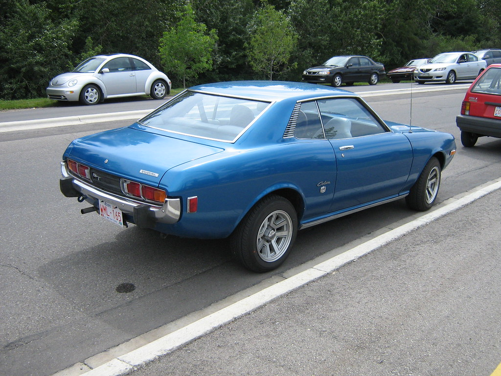 1973 Toyota Celica ST | 1973 Toyota Celica ST parked outside… | Flickr