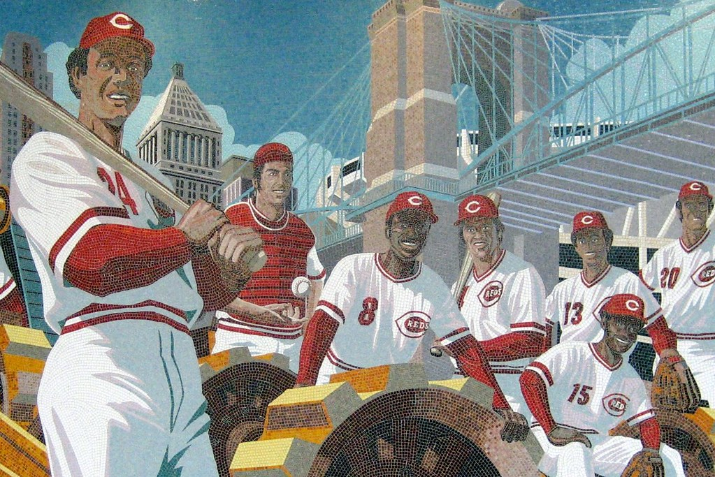 "Cincinnati: Great American Ballpark - ""The Great Eight ... Red Sox"