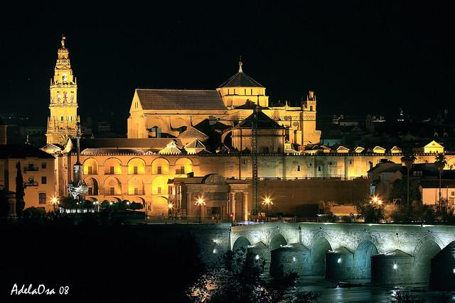 Lleg la noche para la mezquita catedral de c rdoba flickr - Mezquita de cordoba de noche ...