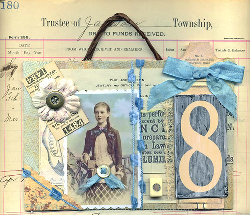 How To Make Book Cover Collage : Altered book cover collage this is a made from