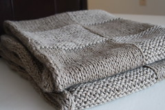 Hip To Be Square Blanket | by YarnPlayCafé